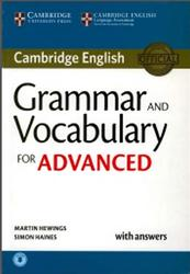 Grammar and Vocabulary for Advanced, With Answers, Hewings M., Haines S., 2015