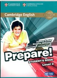 Prepare, Student's book, Level 3, Kosta J., Williams M., 2015