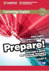 Prepare, Teachers Book, Level 4, Chilton H., 2015