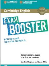 Cambridge English, exam booster, comprehensive exam practice for students, Chapman C., Susan W., 2017